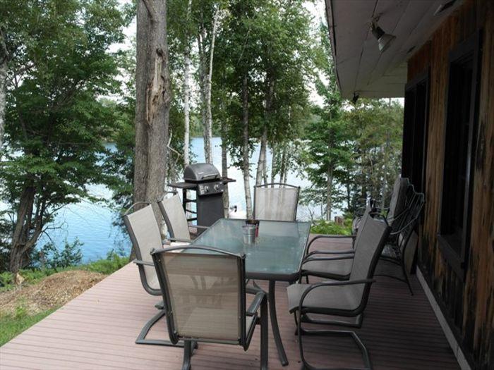 View Horseshoe Lake Cabin very private