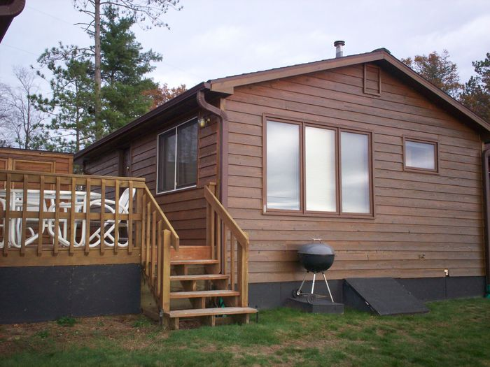 View Breezy Bay Lakefront Cabin on