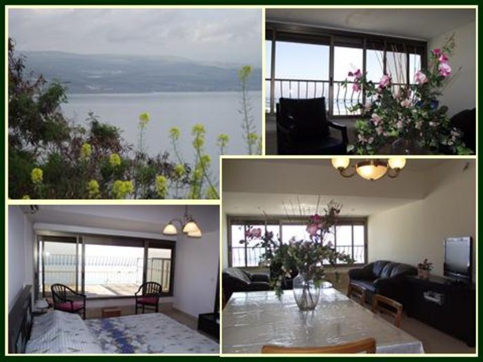 View Spacious Kinneret Holiday Apartment