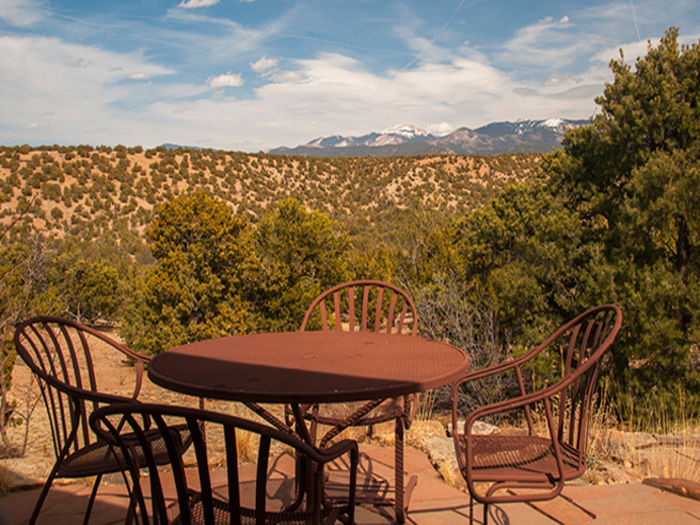 Santa fe new mexico vacation home rentals by vr411 for Santa fe new mexico cabin rentals