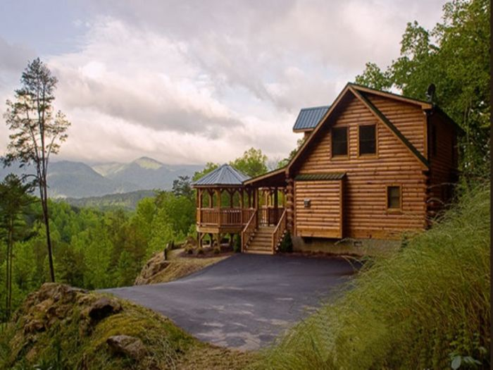 View A Wilderness Hideaway  Upscale
