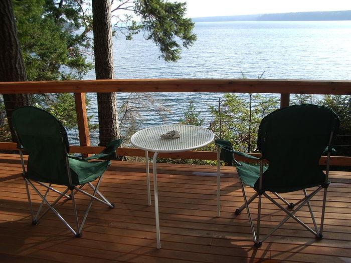 View Waterfront Cabin Escape
