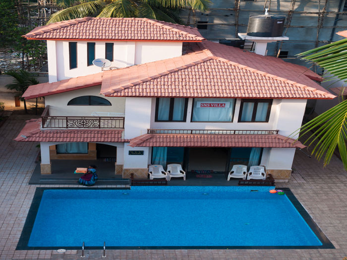 View SNS Beach Holiday Villa at Calangute