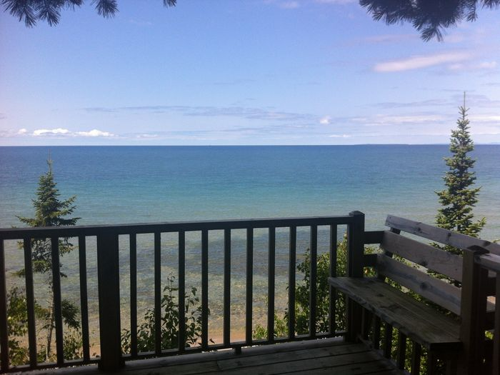 View Brimley Beachfront CottageOn Lake