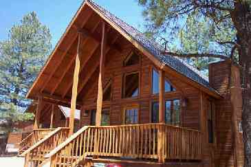 View Mogollon Resort Cabins
