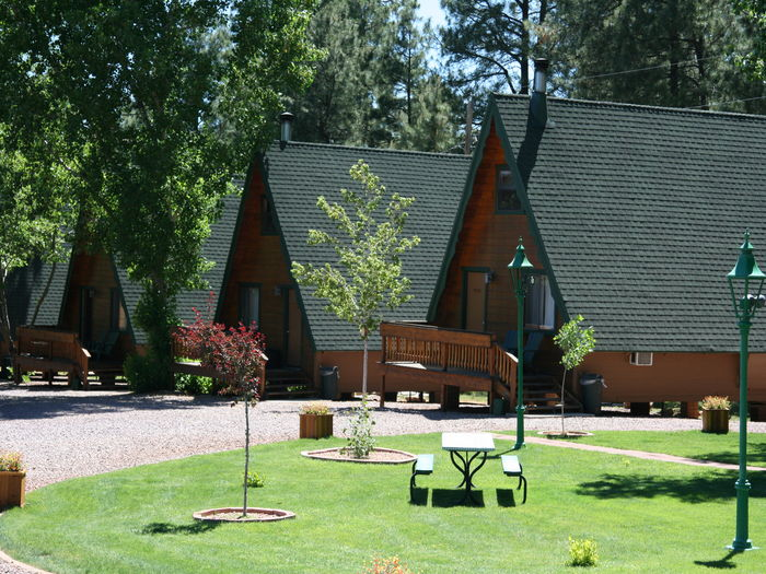 View Cabins On Strawberry Hill