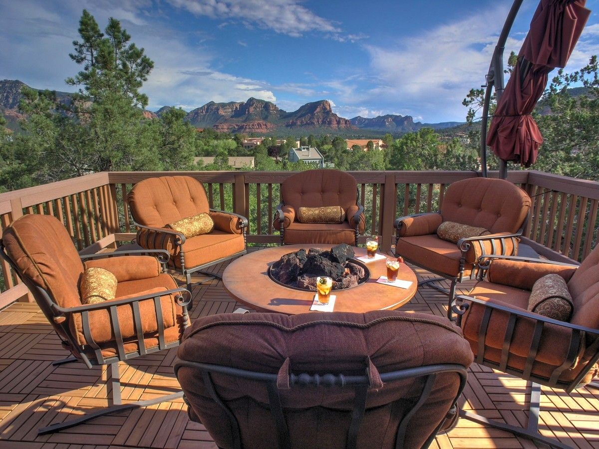 View Uphigh Sedona Home with Outstanding