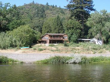 View Beautiful Cedar Home on River