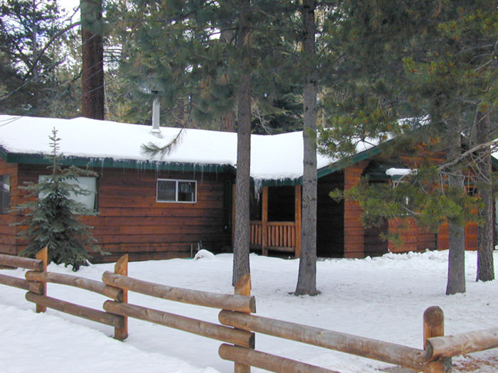 View Perfect Tahoe Cabin