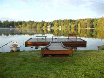 View Deer Lake Water Front House