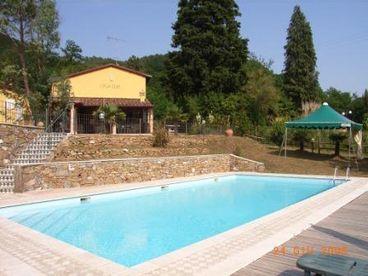 View Casa Elia  with private swimming