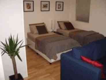 View Shortstays 3  inner city studio