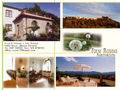 View Tuscany village house with panoramanear